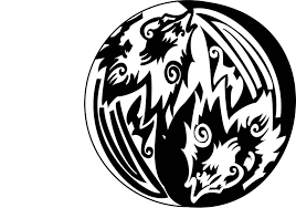 yin yang wolfs design in 2017 photo pictures images