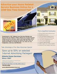Atlanta Home Services Flyer