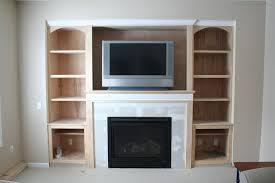 unique living room wall shelves decorating ideas wooden fixtures