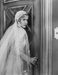 of frankenstein wedding dress mae clarke wearing a wedding dress in frankenstein 1931
