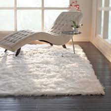 Sheepskin Area Rugs 3 X 5 Faux Sheepskin White Rectangle Area Rug Soft Comfort Warm