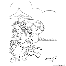 print troll mandy sparkledust movie coloring pages coloring