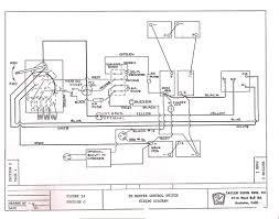 ez go electric golf cart wiring diagram and