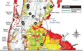 Palm Bay Florida Map Pinellas Issues Hurricane Irma Evacuation Orders Story Fox 13