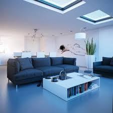 beautiful light blue living room