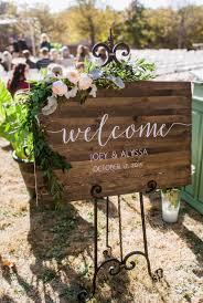 personalized wooden wedding signs this rustic wooden welcome sign will make a beautiful personalized