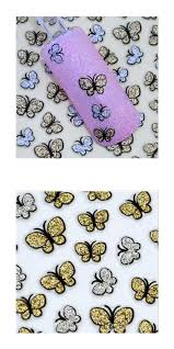 visit to buy new 3d butterfly nail art shinning stickers diy nail