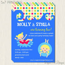 kids birthday party invitations printable birthday party dresses