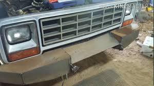 Dodge Ram 85 - custom bumpers on the 85 dodge power ram part 1 youtube