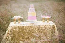 Table Cloths For Sale Sale 90x132 Gold Champagne Sequin Table Cloth 6 Foot Table