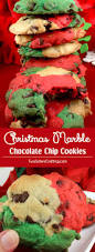 christmas marble chocolate chip cookies two sisters crafting