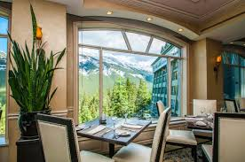 primrose dining room the rimrock resort hotel banff national