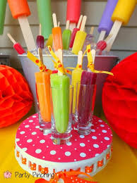 popsicle pop up party popsicle cupcakes popsicle table popsicle