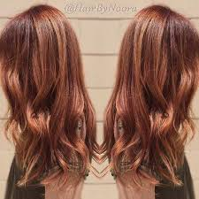best summer highlights for auburn hair 20 startling auburn hair color ideas with blonde highlights