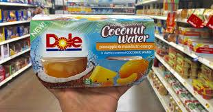 dole fruit bowls new 1 1 dole fruit bowls in coconut water coupon hip2save