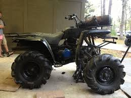 mudding four wheelers big bear 350 custom lift mudinmyblood forums