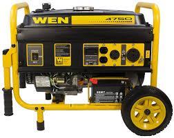 amazon com wen 56475 4750 watts gas powered portable electric