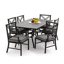 Lakeview Patio Furniture by Amazon Com Lakeview Outdoor Designs Audubon 6 Person Aluminum