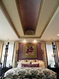 bedrooms overwhelming ceiling decoration ideas wood tray ceiling