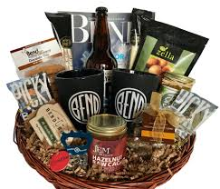 custom locally sourced gift baskets bend or cascadia gift