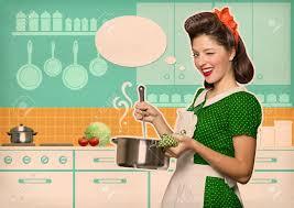 menagere cuisine soupe de cuisson ménagère dans sa chambre de la cuisine avec l