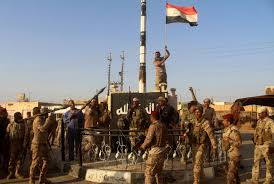 Marines Holding Flag The End Of The Islamic State Geopolitical Futures