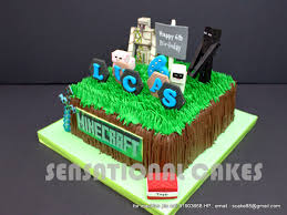 the sensational cakes minecraft sugar crafted 3d cakes singapore