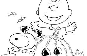 charlie brown halloween coloring pages colorings
