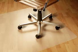 Hardwood Floor Mat Best Hardwood Floor Chair Mat With Tahoe Blue Bamboo Chair Mat