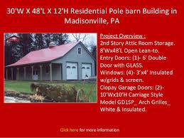 Pole Barn Pa Newpolebarn Com Residential Buildings
