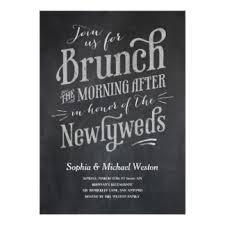 brunch wedding invitation post wedding brunch invitations announcements zazzle