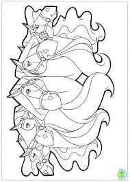 horseland coloring dinokids org