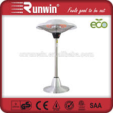 Tabletop Electric Patio Heater by Portable Electric Patio Heater Table Top Style With Heavy Base