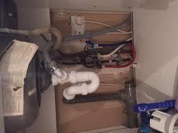 Kitchen Sink Draining Problem Air Lock DoItYourselfcom - Kitchen sink problem
