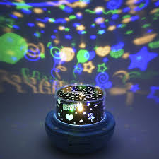 plug in projector night light romantic rotating colorful sky projection l plug electric