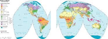 map types climate map mappery