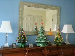 vintage ceramic christmas tree l heure bleue at home vintage christmas trees