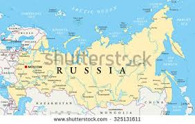 european russia map cities russia political map capital moscow national stock vector