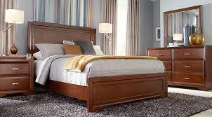 belcourt cherry 5 pc king panel bedroom king bedroom sets dark wood