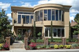best decor stucco house paint colors with stone sandstone
