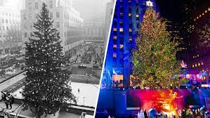 Rockefeller Tree The Rockefeller Center Tree Lights Up For The 2017 Season