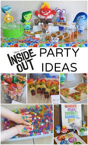 party ideas for kids disney pixar inside out party ideas disney pixar party planning