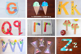 letter crafts archives the letters of literacy