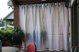 Outdoor Privacy Curtains Outdoor Privacy Curtains For Deck Home Design Ideas