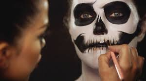 diy halloween costume watch this spooky skeleton makeup tutorial