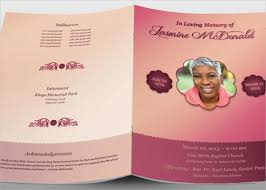 Unique Funeral Programs 16 Funeral Memorial Program Templates Free Psd Ai Eps Format