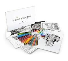 color escapes coloring kit nature crayola
