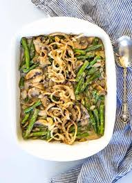 paleo green bean casserole easy healthy whole30