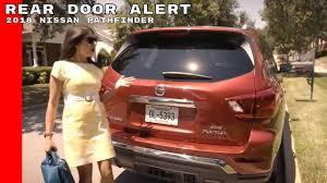 nissan pathfinder or similar 2018 nissan pathfinder rear door alert technology youtube