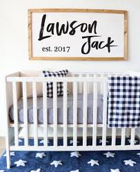 how to make your own wood sign for the nursery diy rustic boy wood wall panel diy